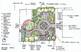 Berkeley Cottage Garden Concept Plan